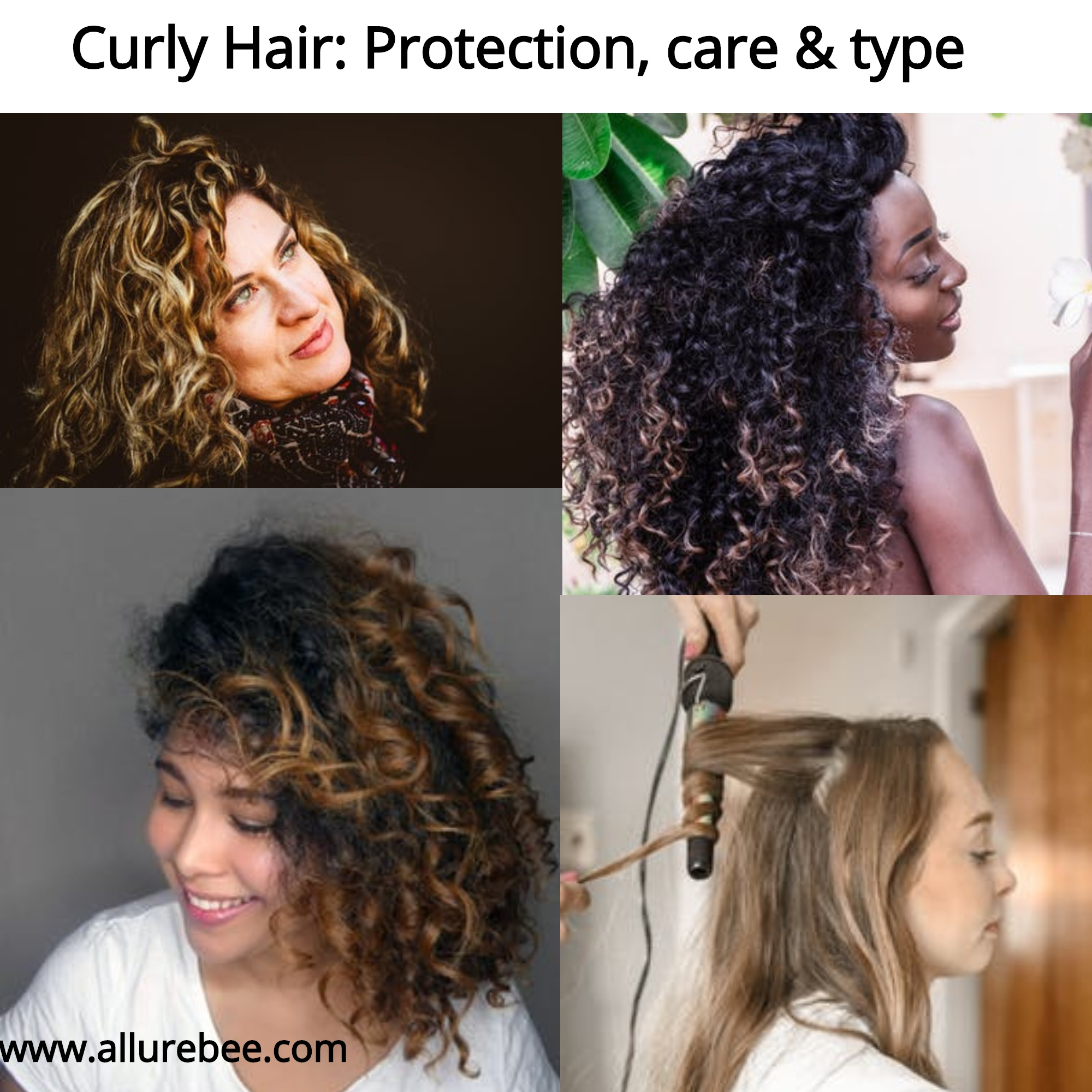 Type of curly hair