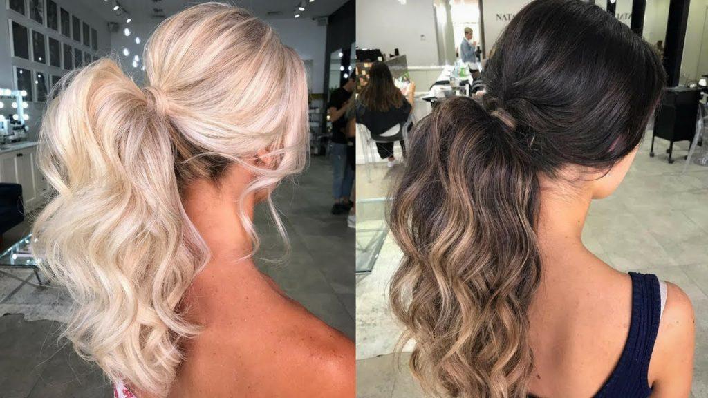 Voluminous Ponytail hair