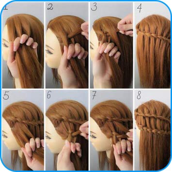 process to design hair.