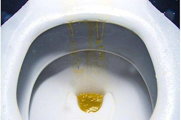 Dirty washroom