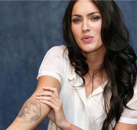 Megan Fox's Marilyn Monore Tattoo