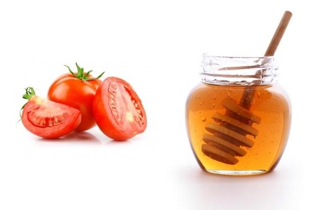Tomato & honey face pack
