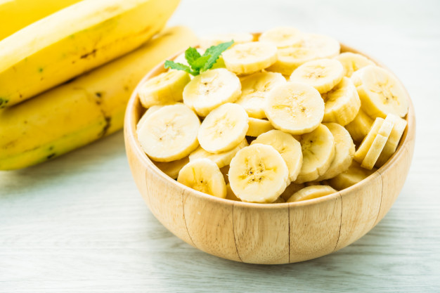 banana for instant skin glow