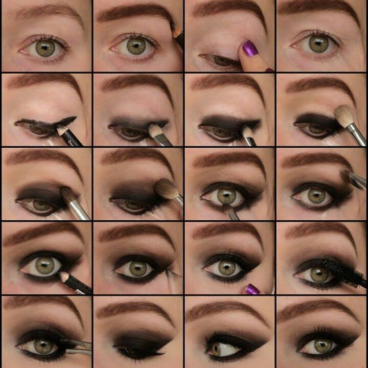 how to make smoky eye