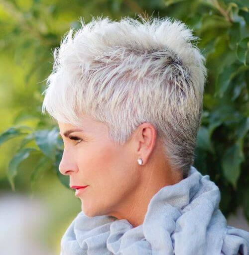 Very Short Textured Pixie Hairstyle