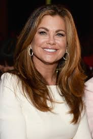 Brown Blonded Hairstyle For Women Above 50