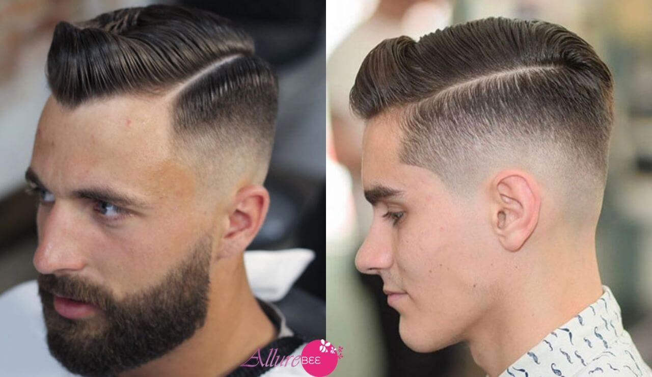 High fade comb over:trending hairstyles for men