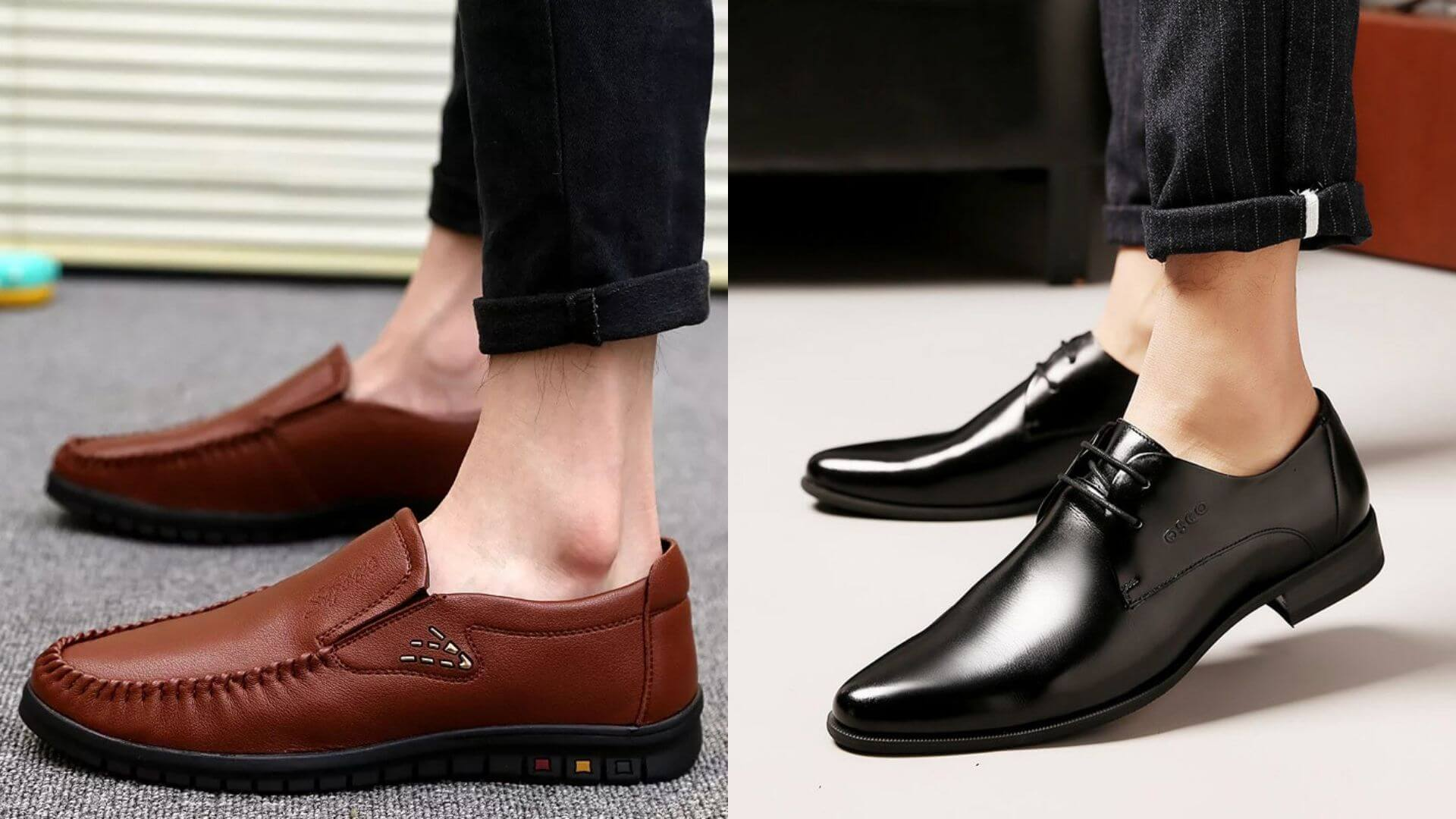 Men Business Casual Shoes