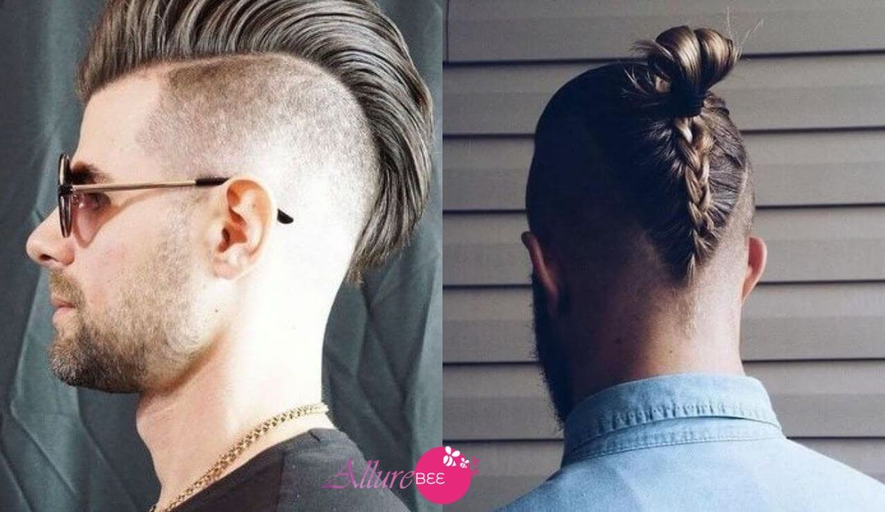 undercut mohawk:trending hairstyles for men
