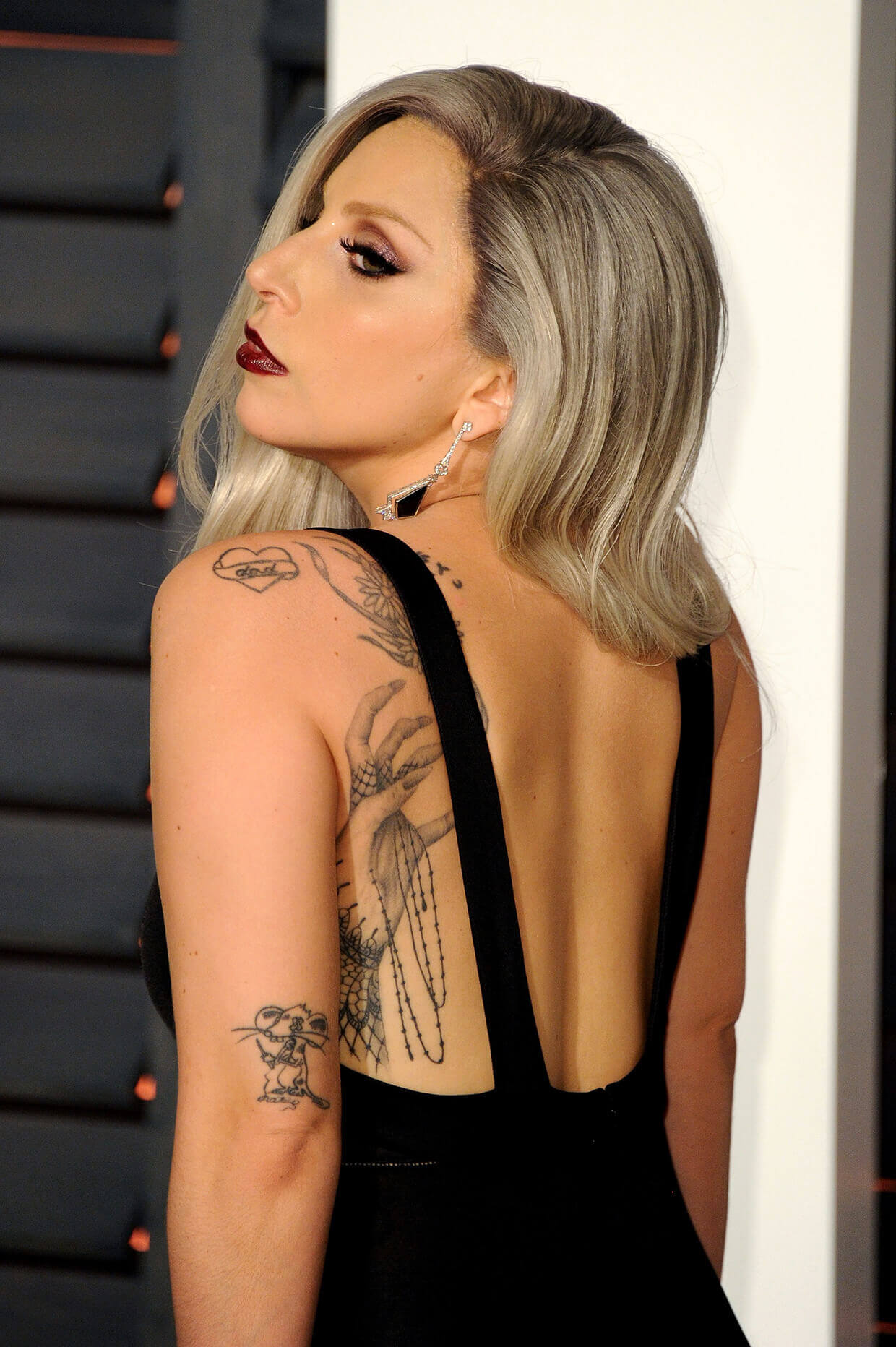 """Lady Gaga's """"Mouse"""" Tattoo + Meaning"""