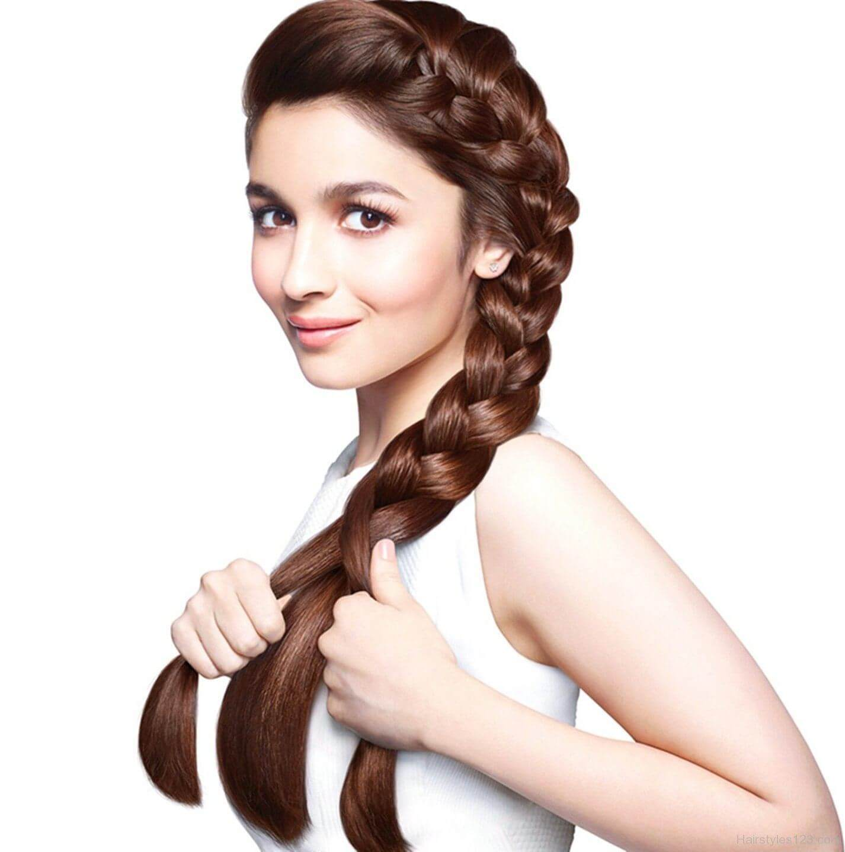 Alia Bhatt's hair