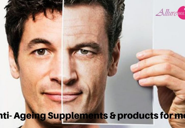 Anti- Ageing Supplements & products for men