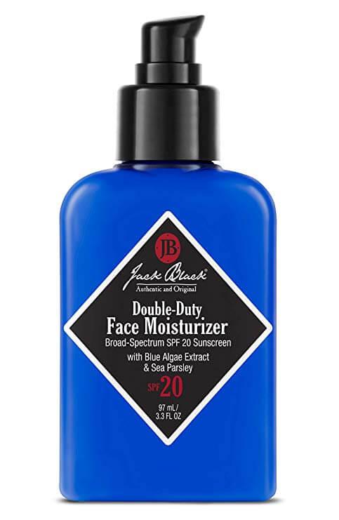 Jack Black Double-Duty Face Moisturizer:Anti-aging supplements for men