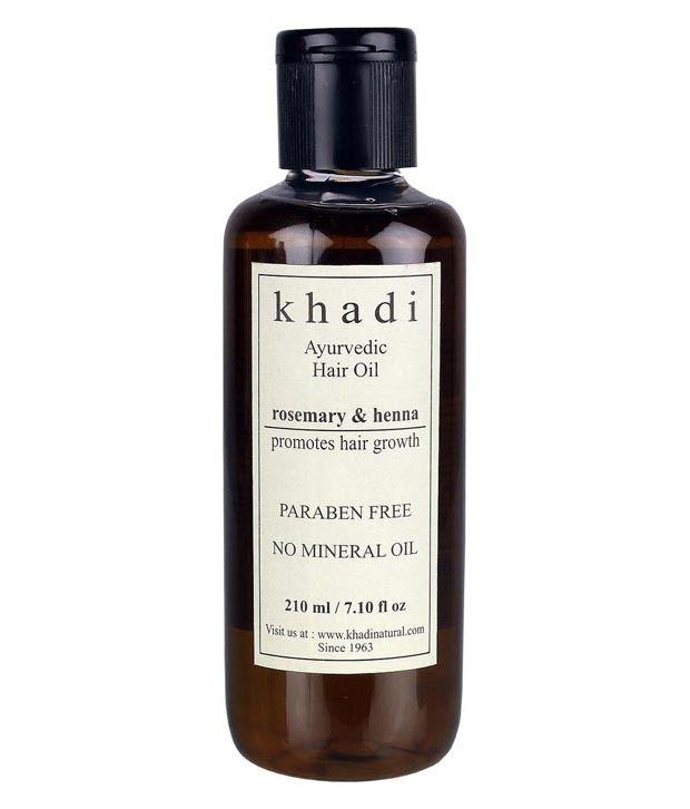 Khadi Natural Henna & Rosemary Herbal Hair Oil