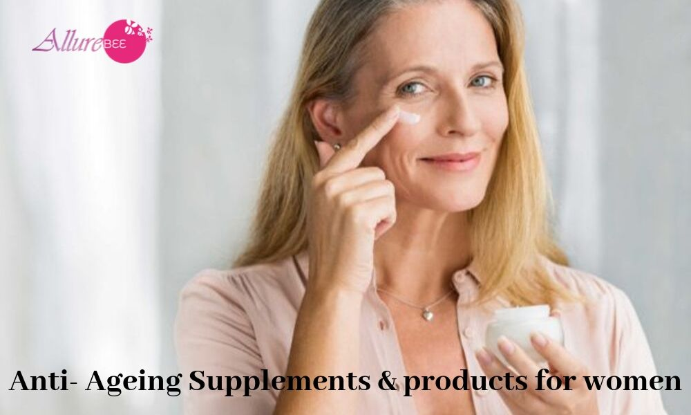anti ageing supplement & products for women