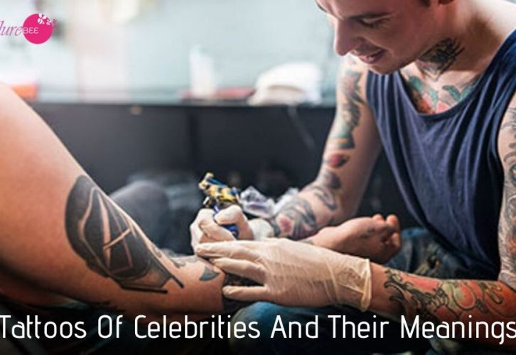 Tattoos Of Celebrities And Their Meanings