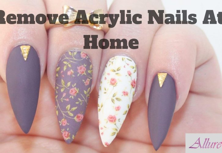 Remove Acrylic Nails At Home