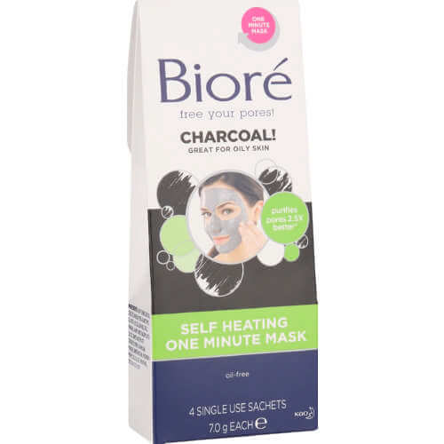 Biore Self-Heating One Minute Mask