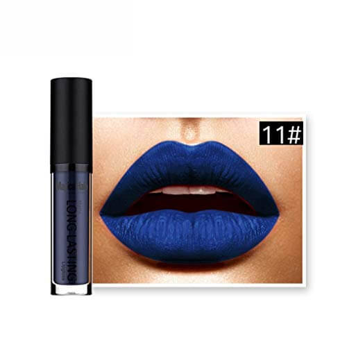 Blue lipstick share