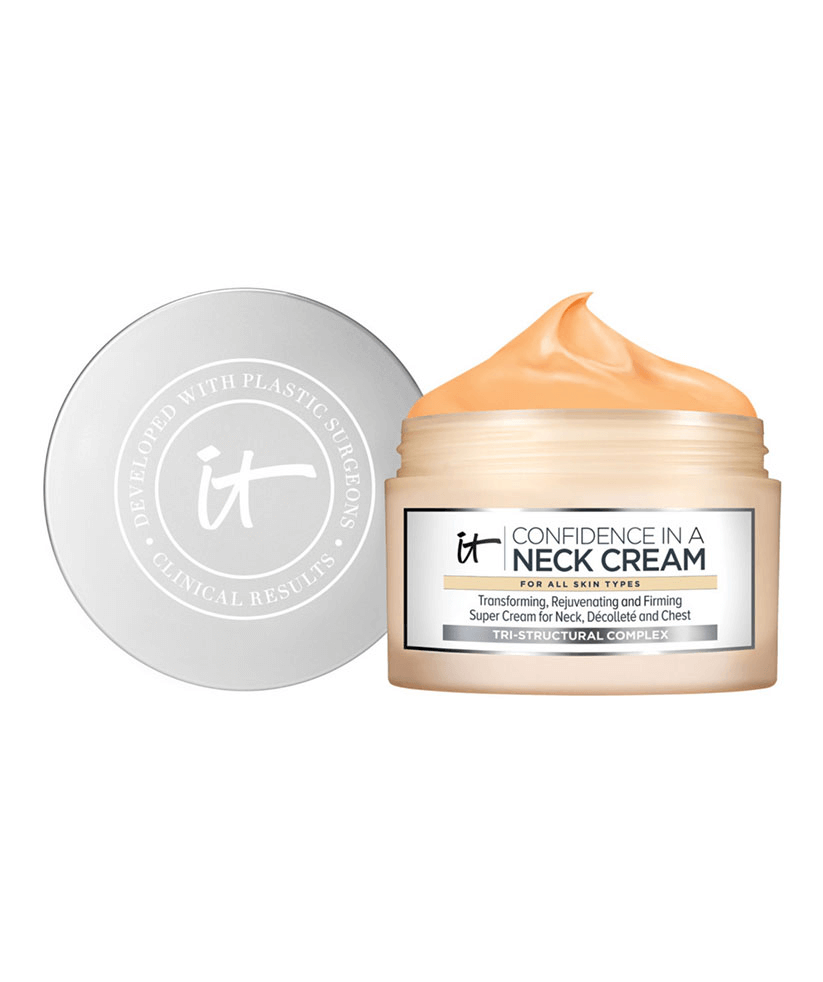 Confidence in a Neck Cream