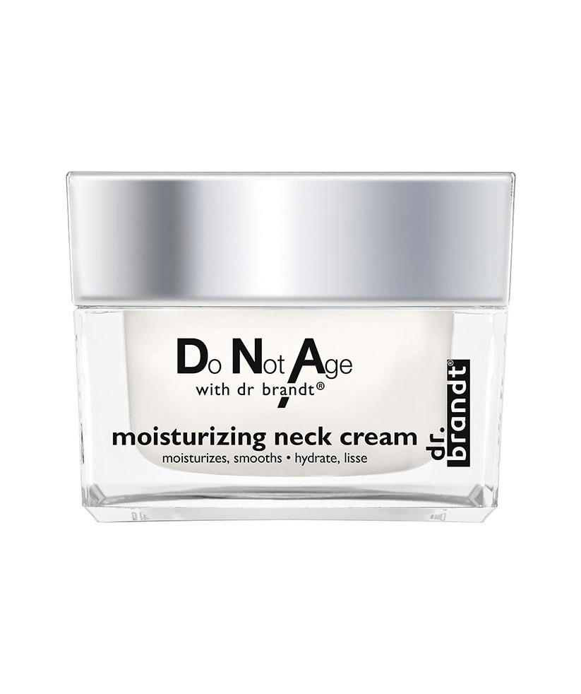 Do Not Age Dr. Brandt moisturizing and Neck Neck Firming Mask