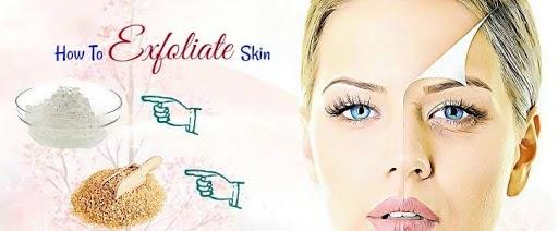 Exfoliate-Facial Steps