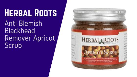 Herbal Roots Anti Blemish Blackhead Remover Apricot Scrub