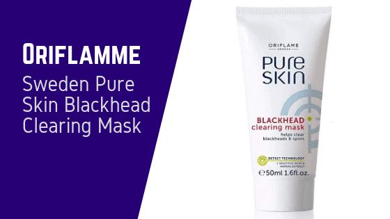 Oriflame Sweden Pure Skin Blackhead Clearing Mask