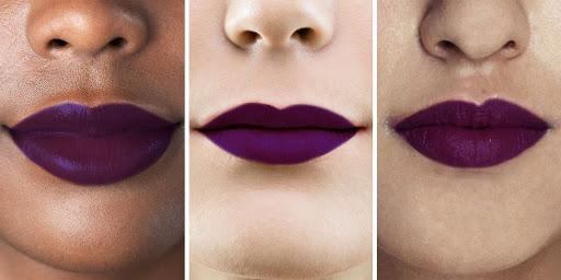 Purple Lip Color