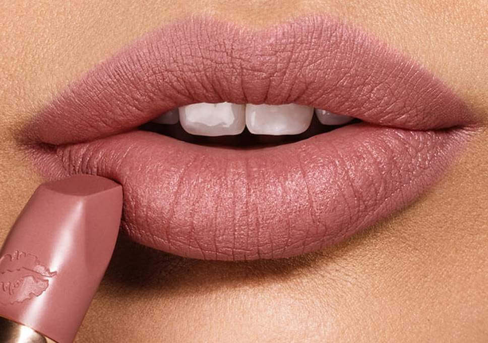 Taupe lipstick shade for dusky skin