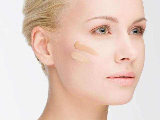 Use light foundation in your face-Modern Makeup Tips