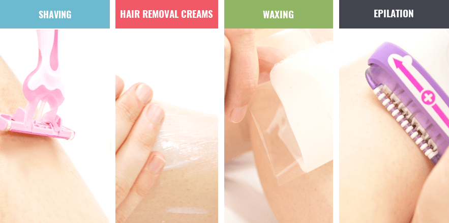 best way for hair removal