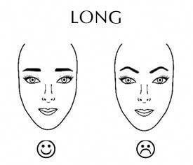 Eyebrow For Long Face (1)