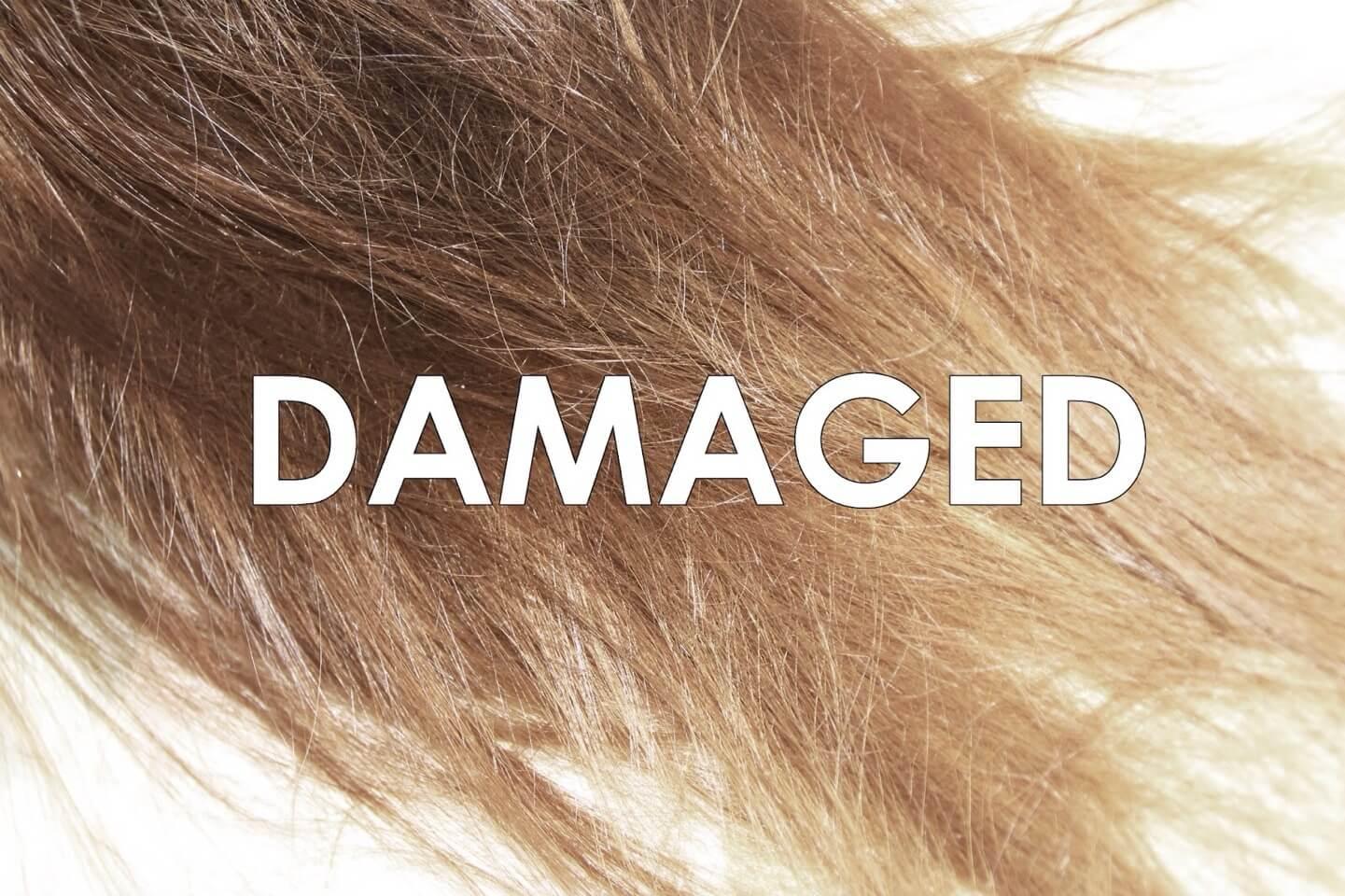 Causes of hair damage